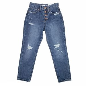 OLD NAVY High Rise Straight Jeans Size 8 Slim